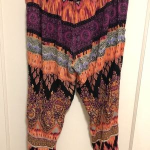 Lose fitting comfy patterned pants